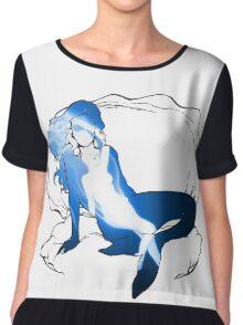 Mermaid Fairy Fusion Chiffon Top