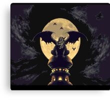 Chrono Trigger - Castle Magus Canvas Print