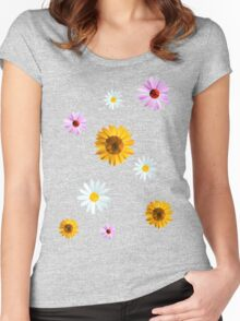 Sunny Days Women's Fitted Scoop T-Shirt