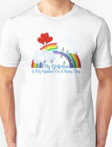 Girlfriend Is My Rainbow Unisex T-Shirt