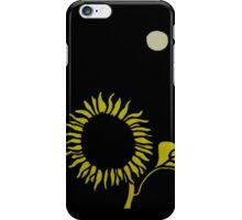 Sunflower Under the Moon iPhone Case/Skin