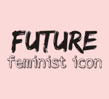 Future Feminist Icon - Black Kids Clothes