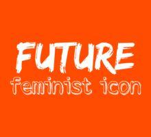 Future Feminist Icon - White Kids Clothes