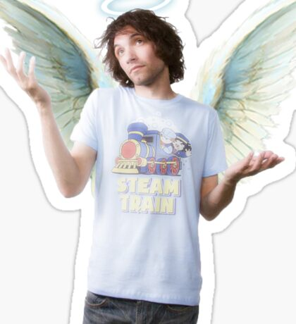angel boy Sticker