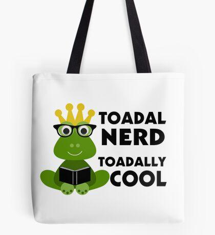 Toadal Nerd Toadally Cool Tote Bag