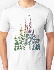Happiest Rainbow Castle on Earth Unisex T-Shirt