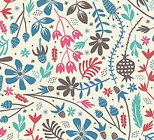 Cool Trendy Modern Floral Pattern by sale