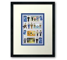 The Doctor Regenerates - #9-12 Framed Print