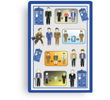 The Doctor Regenerates - #9-12 Canvas Print