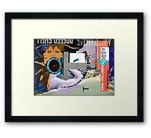 Number Ten. Framed Print