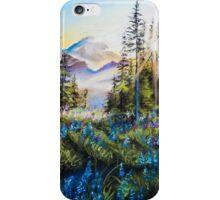 Pastel Mountains iPhone Case/Skin