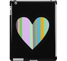 Striped Heart iPad Case/Skin