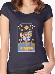 Star Platinum  Women's Fitted Scoop T-Shirt