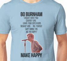 Bo Burnham Make Happy Unisex T-Shirt