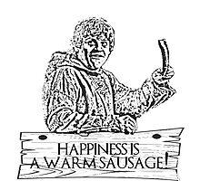 Game of Sausage Photographic Print