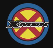 X-MEN Logo One Piece - Short Sleeve