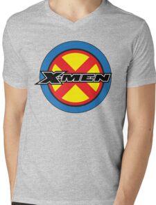 X-MEN Logo Mens V-Neck T-Shirt