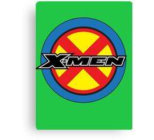 X-MEN Logo Canvas Print
