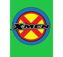X-MEN Logo Photographic Print