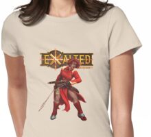 Exalted Night Caste - Novia Claro Womens Fitted T-Shirt