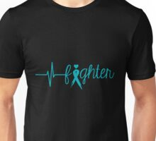 Turquoise Fighter Unisex T-Shirt