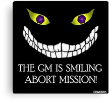 The GM Is Smiling Canvas Print