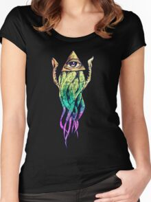 EyeTentacles Women's Fitted Scoop T-Shirt