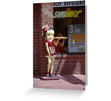 Betty Boop #1 Greeting Card