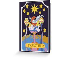 Star Platinum  Greeting Card