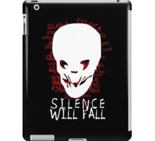 Doctor Who - Silence Will Fall iPad Case/Skin