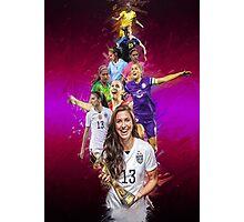 Alex Morgan From University Of California, Berkeley to Orlando Pride + National Team Photographic Print