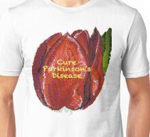 Tulip Painted- Cure Parkinson's Disease Unisex T-Shirt