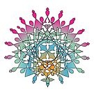 Jeweled Mandala Motif by Zehda