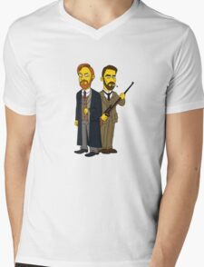 Moriarty & Moran  Mens V-Neck T-Shirt
