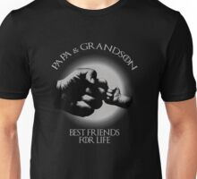 Papa And Grandson Best Friends For Life Unisex T-Shirt