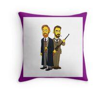 Moriarty & Moran  Throw Pillow