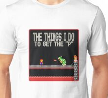 mario need the P Unisex T-Shirt