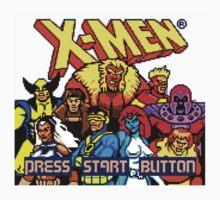 X-MEN Retro Game Design One Piece - Short Sleeve