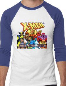 X-MEN Retro Game Design Men's Baseball ¾ T-Shirt