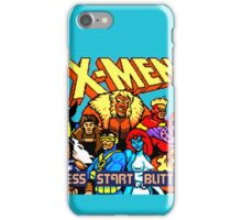 X-MEN Retro Game Design iPhone Case/Skin