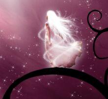 Windblown Starfall Sticker