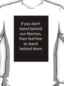 Support Marines T-Shirt