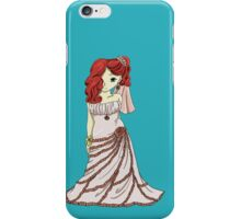 Red-Headed Bride iPhone Case/Skin