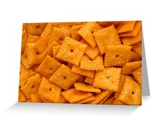 Cheez Its Greeting Card