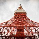 Tokyo Tower by Shari Mattox-Sherriff