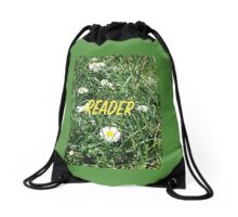 Reader Drawstring Bag