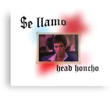 Tony Montana head honcho  Metal Print