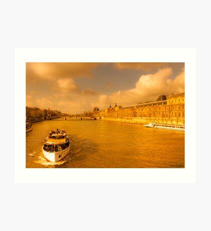 Après-midi sur la Seine - Parisan Dream Art Print