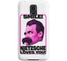 Smile! Nietzsche Loves You!  Samsung Galaxy Case/Skin