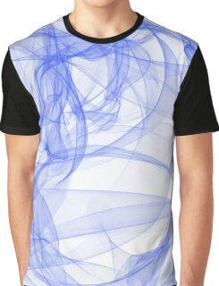 Blue ink Graphic T-Shirt